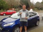 Elliot passed with Freedom School of Motoring