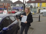 Hollie passed with Freedom School of Motoring