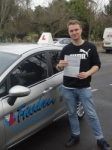 Joey passed with Freedom School of Motoring