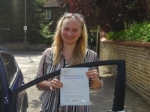 Katherine passed with Freedom School of Motoring