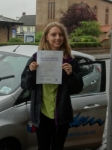 Katie passed with Freedom School of Motoring