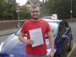 Lewis passed with Freedom School of Motoring