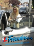 Maria passed with Freedom School of Motoring