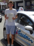 Matthew passed with Freedom School of Motoring