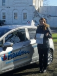 Mirela passed with Freedom School of Motoring