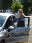 Natalia passed with Freedom School of Motoring