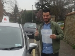 Paolo passed with Freedom School of Motoring