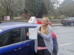 Sarah passed with Freedom School of Motoring