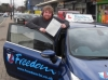 William passed with Freedom School of Motoring
