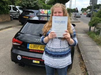 The lessons were easy to understand and everything was always explained precisely. I would recommend Gravy Driving School to anyone wanting to learn to drive.