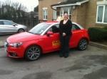 Angela (Dartford) passed with Gravy Driving School