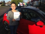 ANNI (SIDCUP) passed with Gravy Driving School