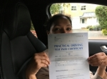 Anuja (ORPINGTON) passed with Gravy Driving School