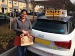 ARPITA (BEXLEY) passed with Gravy Driving School