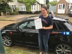 CHLOE (SIDCUP) passed with Gravy Driving School