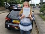 Carrie (Sidcup) passed with Gravy Driving School