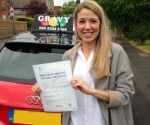 CHARLIE (SIDCUP) passed with Gravy Driving School
