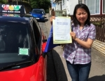 CINDY (ORPINGTON) passed with Gravy Driving School