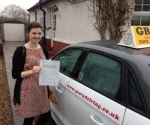 CLAIRE (SIDCUP) passed with Gravy Driving School