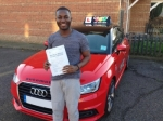 Clarence (ERITH) passed with Gravy Driving School