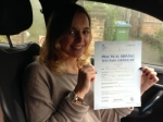 CONNIE (ELTHAM) passed with Gravy Driving School