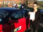 Eliz (Chislehurst) passed with Gravy Driving School