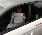 ELIZA (WELLING) passed with Gravy Driving School
