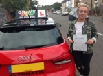 ELLIE (SIDCUP) passed with Gravy Driving School