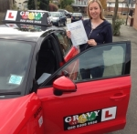 Emily-M (SIDCUP) passed with Gravy Driving School