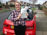 Hannah G (BEXLEY) passed with Gravy Driving School