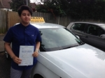 HARRY (SIDCUP) passed with Gravy Driving School
