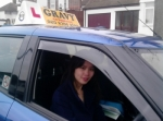 Helen (New Eltham) passed with Gravy Driving School
