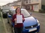 Irina (Bexleyheath) passed with Gravy Driving School
