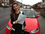 JADE (SIDCUP) passed with Gravy Driving School