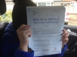 JIN-D (SIDCUP) passed with Gravy Driving School