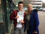 JOSH (SIDCUP) passed with Gravy Driving School