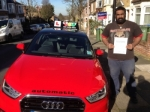 Kris (ABBEY WOOD) passed with Gravy Driving School
