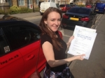 MARIA H (SIDCUP) passed with Gravy Driving School