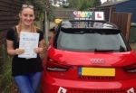 Naoise (SIDCUP) passed with Gravy Driving School