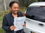 Natalie (Sidcup) passed with Gravy Driving School