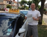 Paul (Sidcup) passed with Gravy Driving School