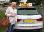 Rae (CHISLEHURST) passed with Gravy Driving School