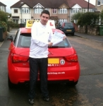 Ricky (Dartford) passed with Gravy Driving School