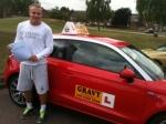 Rob (Gravesend) passed with Gravy Driving School