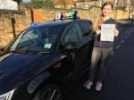 SARAH (ELTHAM) passed with Gravy Driving School