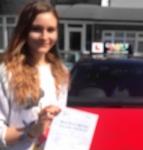 SOPHIE (CHISLEHURST) passed with Gravy Driving School