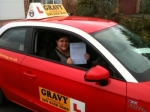 Stacey (Orpington) passed with Gravy Driving School