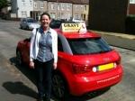 Tanya F (Belvedere) passed with Gravy Driving School