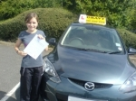 Tanya (Orpington) passed with Gravy Driving School