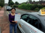 Tatiana (SIDCUP) passed with Gravy Driving School